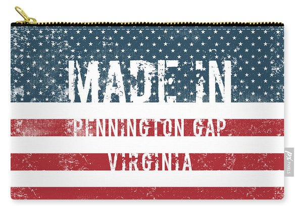 Made In Pennington Gap, Virginia Carry-all Pouch