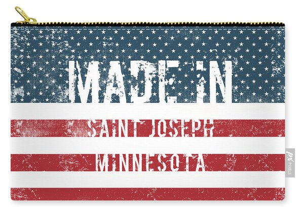 Made In Saint Joseph, Minnesota Carry-all Pouch