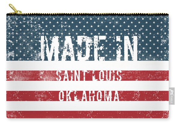 Made In Saint Louis, Oklahoma Carry-all Pouch
