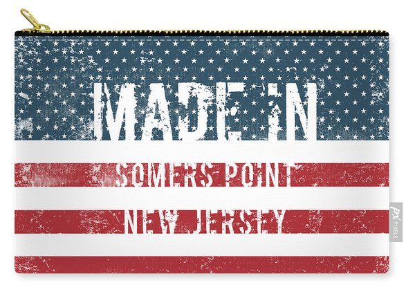 Made In Somers Point, New Jersey Carry-all Pouch