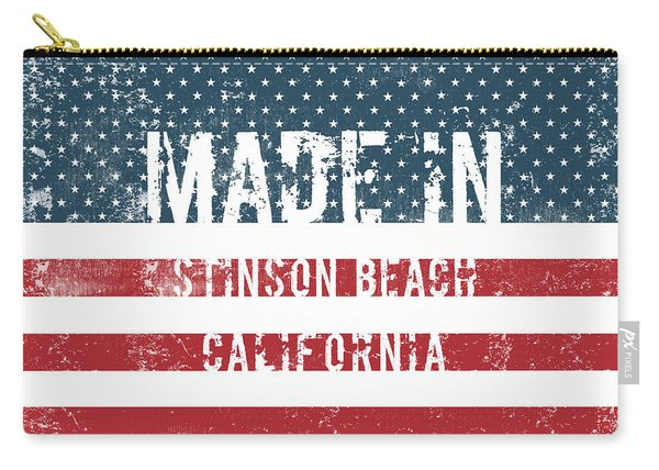 Made In Stinson Beach, California Carry-all Pouch