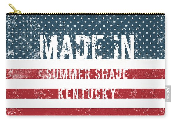 Made In Summer Shade, Kentucky Carry-all Pouch