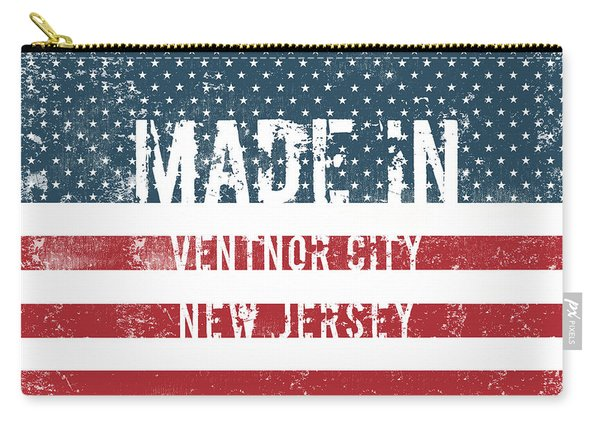 Made In Ventnor City, New Jersey Carry-all Pouch
