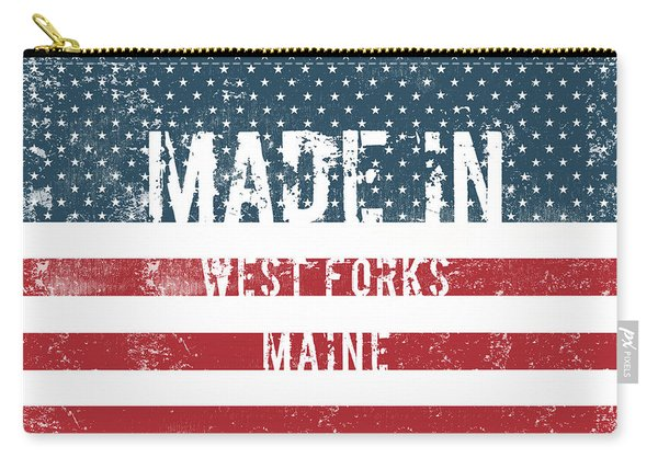 Made In West Forks, Maine Carry-all Pouch