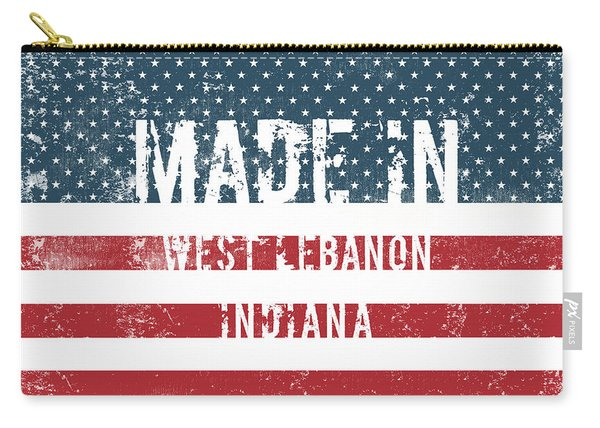 Made In West Lebanon, Indiana Carry-all Pouch