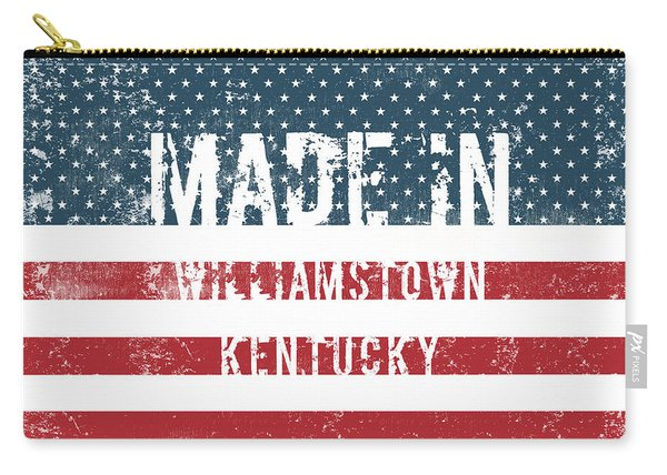 Made In Williamstown, Kentucky Carry-all Pouch