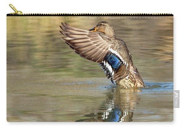 Mallard Duck Female Carry-all Pouch