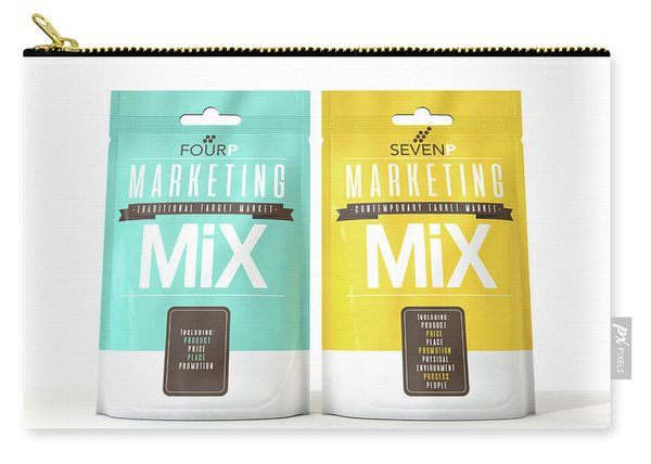 Marketing Mix 4 And 7 P's Carry-all Pouch