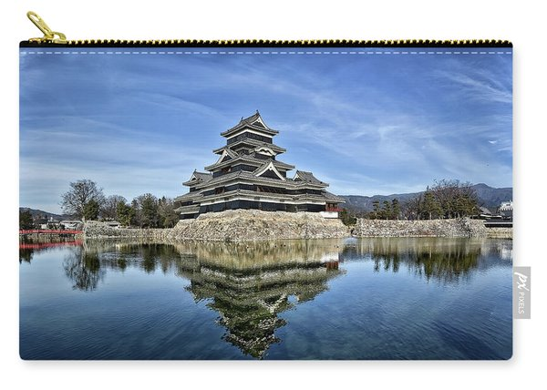 Matsumoto Castle Panorama Carry-all Pouch