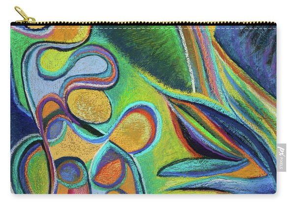 Meandering Curiosity Carry-all Pouch