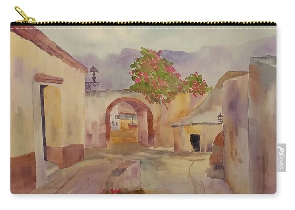 Mexican Street Scene Carry-all Pouch