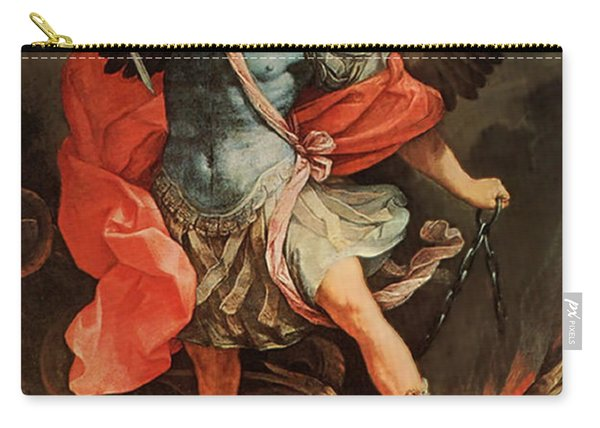 Michael Defeats Satan Carry-all Pouch