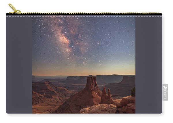 Milky Way At Twilight - Marlboro Point Carry-all Pouch