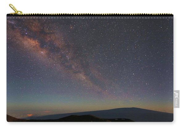 Milky Way Over Mauna Loa Carry-all Pouch