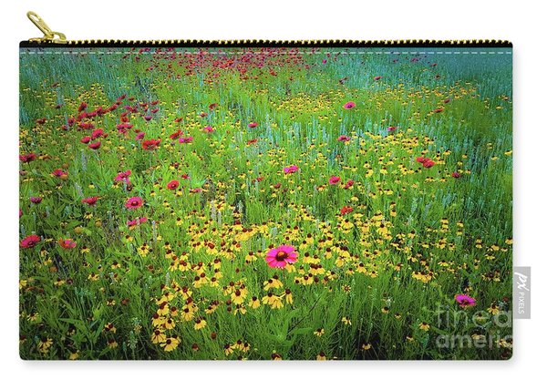 Mixed Wildflowers In Bloom Carry-all Pouch