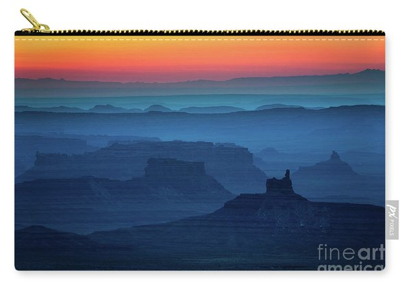 Moki Dugway Sunrise Carry-all Pouch