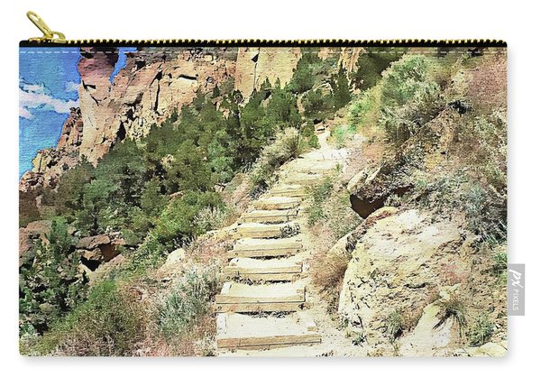 Monkey Face Rock - Smith Rock National Park, Oregon Carry-all Pouch