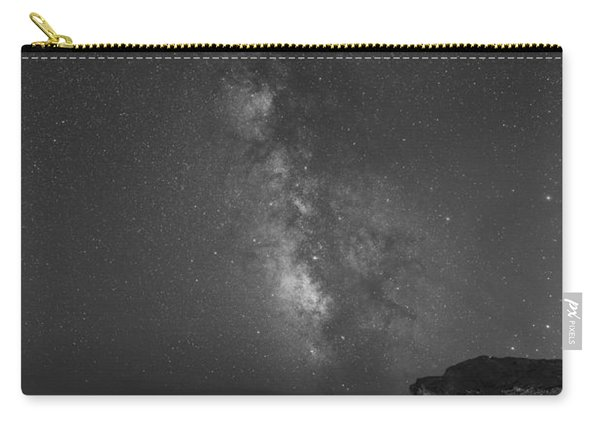 Moonlit Beach Milky Way 8x12 Carry-all Pouch