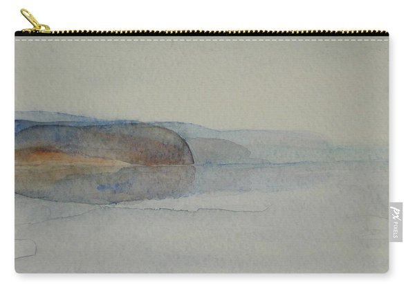 Morning Haze In The Swedish Archipelago On The Westcoast. Up To 36 X 23 Cm Carry-all Pouch