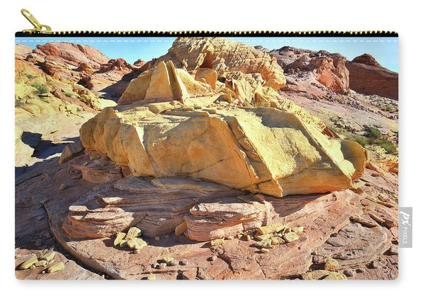 Morning In Wash 3 In Valley Of Fire Carry-all Pouch