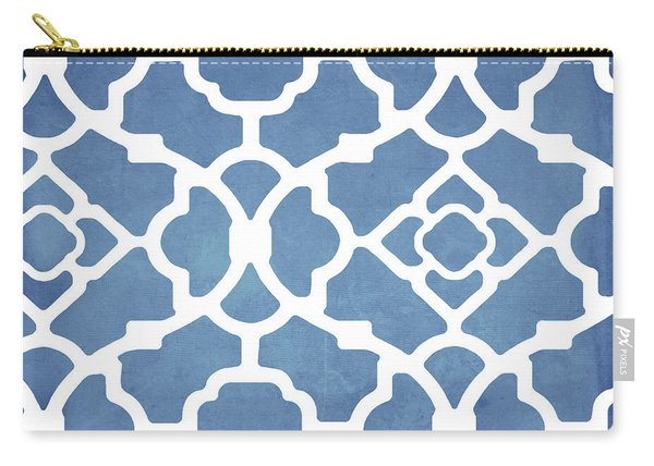 Moroccan Blues Carry-all Pouch