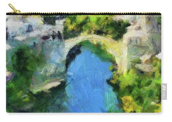 Mostar Old Bridge Carry-all Pouch