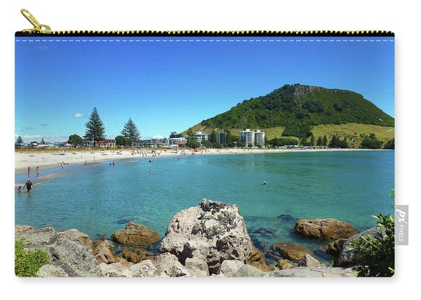 Mount Maunganui Beach 8 - Tauranga New Zealand Carry-all Pouch