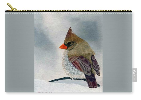 Mrs. Cardinal Carry-all Pouch