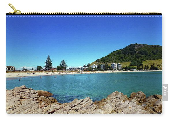 Mt Maunganui Beach 9 - Tauranga New Zealand Carry-all Pouch