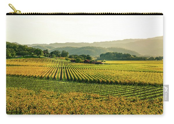 Napa Valley California In Autumn Carry-all Pouch