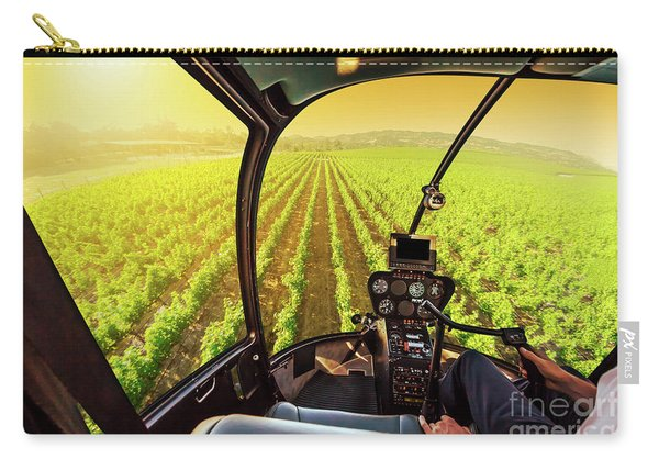 Napa Valley Scenic Flight Carry-all Pouch