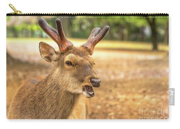 Nara Wild Deer Carry-all Pouch