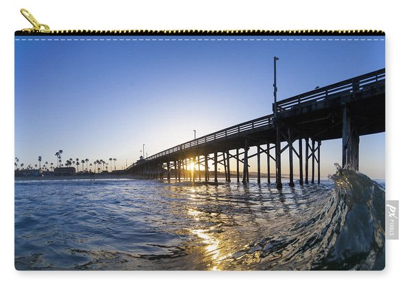 Newport Pier Curl Carry-all Pouch