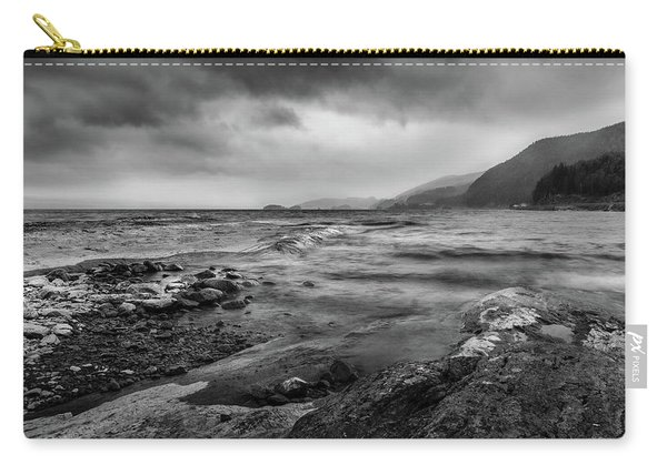 Carry-all Pouch featuring the photograph Not A Better Day To Go Fishing by Dmytro Korol