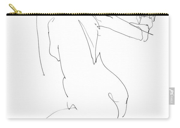 Nude Female Drawings 8 Carry-all Pouch