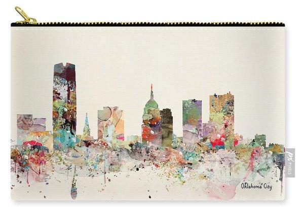 Oklahoma City Skyline Carry-all Pouch