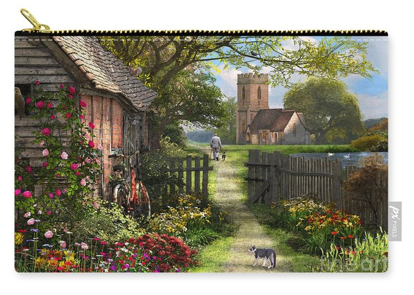 Old Church Path Carry-all Pouch