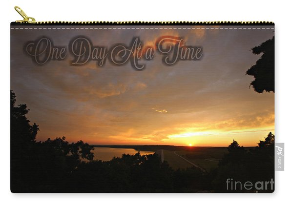 One Day At A Time Carry-all Pouch