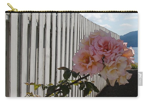 Orcas Island Rose Carry-all Pouch