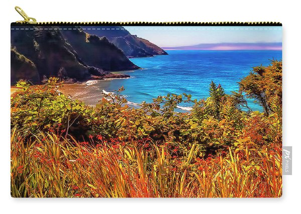 Oregon Coastal Waters Carry-all Pouch