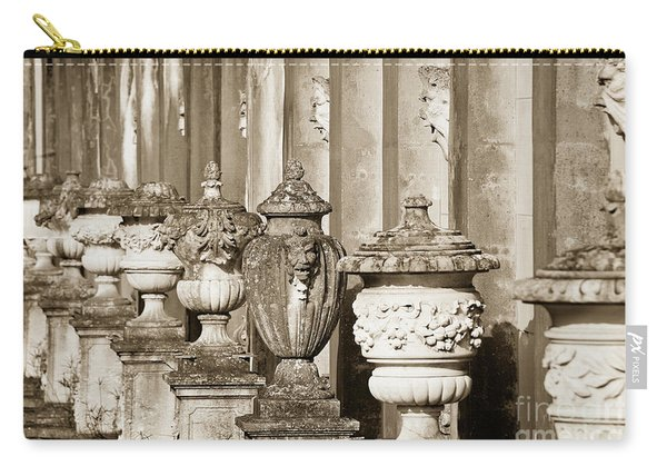 Ornate Garden Urns. Carry-all Pouch