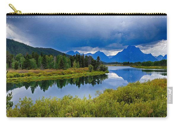 Oxbow Bend Storm Clouds Carry-all Pouch