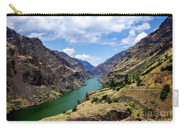 Oxbow Dam Tailwater Idaho Journey Landscape Photography By Kaylyn Franks  Carry-all Pouch