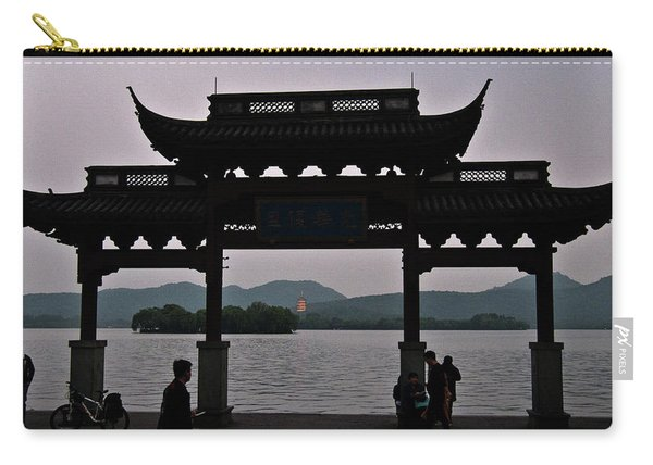 Pagoda At Dusk Carry-all Pouch