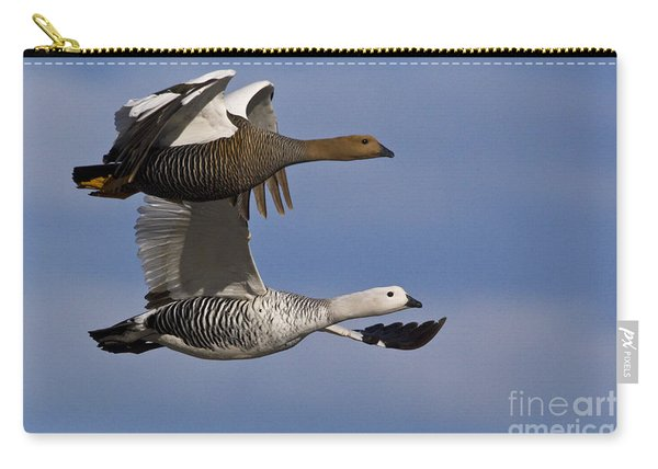 Pair Of Upland Geese Carry-all Pouch