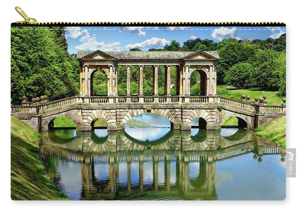 Palladian Bridge Nature Scene Carry-all Pouch