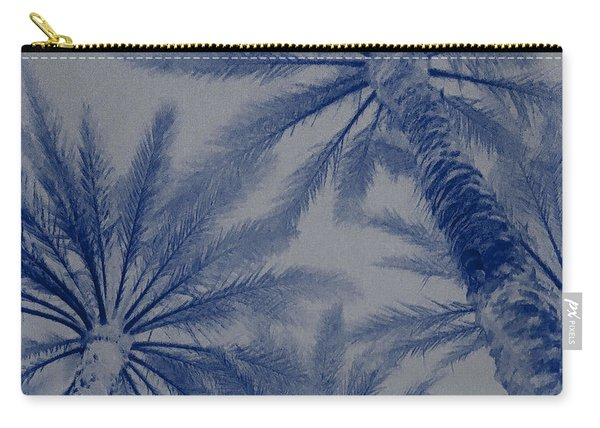 Palm Trees On My Mind Carry-all Pouch