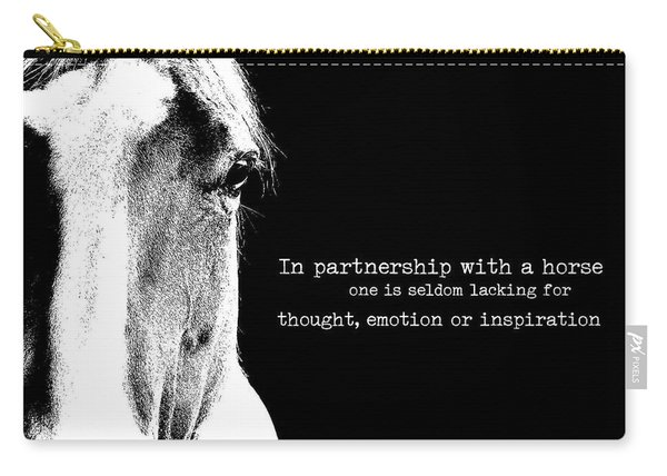 Palomino Partnership Quote Carry-all Pouch