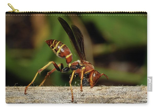 Paper Wasp Carry-all Pouch