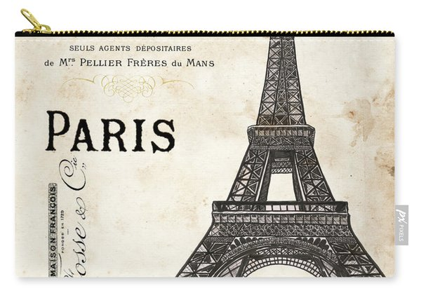 Paris Ooh La La 1 Carry-all Pouch